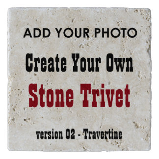 DIY Create Your Own Travertine Stone Trivet T02 Trivets