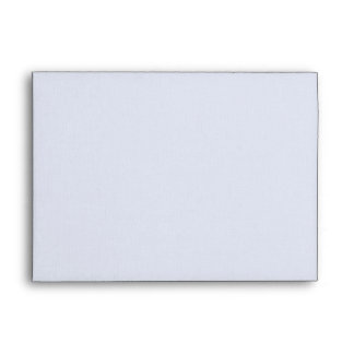 DIY Custom Black & White Linen Wedding Envelope