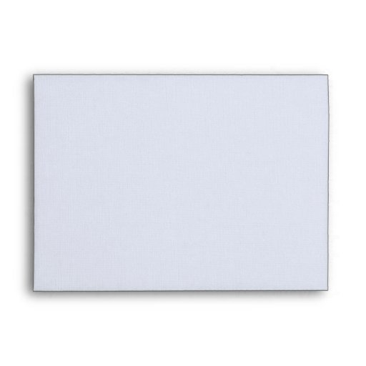 DIY Custom Blue Linen Wedding Envelope