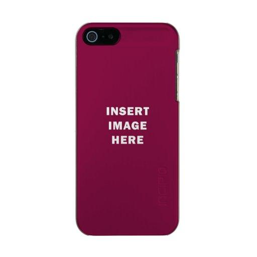 Diy Custom Iphone 5 Case Template Create Your Own Zazzle