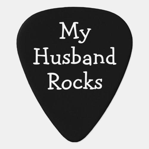 DIY Custom Personalized Rocks Guitar Pick