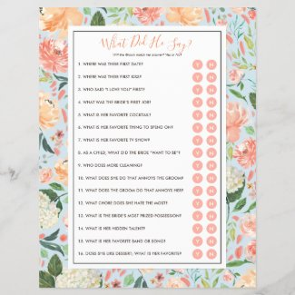 DIY Customize Your Bridal Shower Game with Photo