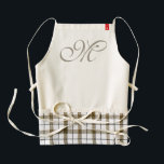 """DIY - Customize your monogram &amp; ideas Zazzle HEART Apron<br><div class=""""desc"""">Funny and pretty Ideas by EDDA Froehlich / EDDArt 