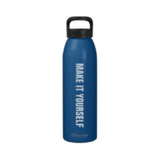 DIY Design It Yourself Custom Water Bottle