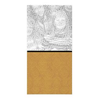 DIY Design It Yourself Gold Wedding Damask Card