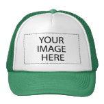 DIY Design Your  Gift Item Green or Other Colors Mesh Hats