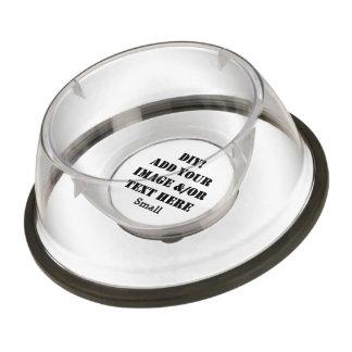 DIY Design Your Own Acrylic Pet Bowl Small V01