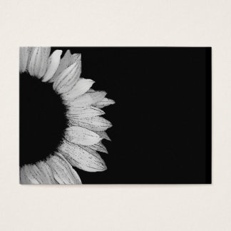 DIY Design Your Own Colored Sunflower Calling Card