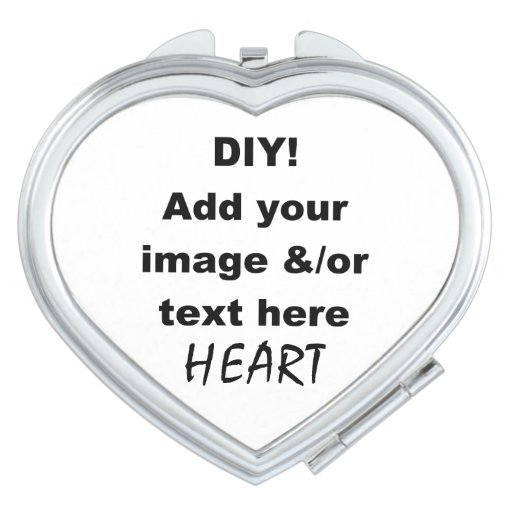 DIY Design Your Own Compact Mirror Oval v04