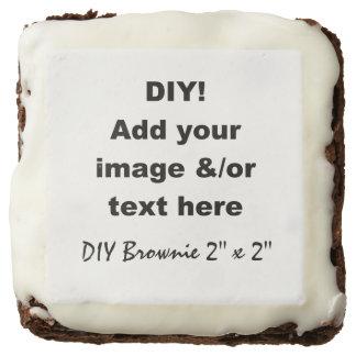 DIY Design Your Own Custom Brownie V01