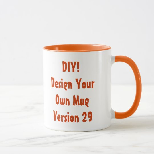 DIY Design Your Own Custom Gift Item Mug