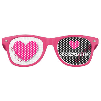 DIY Design Your Own Custom HEARTS Party Shades A44