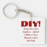 DIY Design Your Own Custom Key Chain