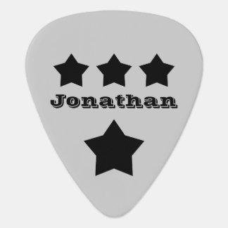 DIY Design Your Own Custom Name Stars V17 Guitar Pick