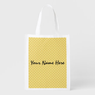 DIY Design Your Own Custom Name v11 Grocery Bag