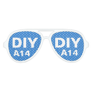 DIY Design Your Own Custom Party Shades A14