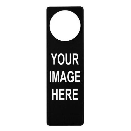 Diy design your own custom photo door hanger zazzle for Create your own door