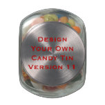 DIY Design Your Own  Custom Wedding Favor V12 Glass Candy Jars at Zazzle