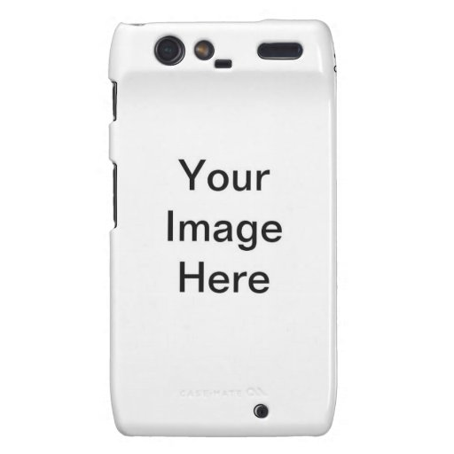 DIY Design Your Own Electronics Gift Item Droid RAZR Cover