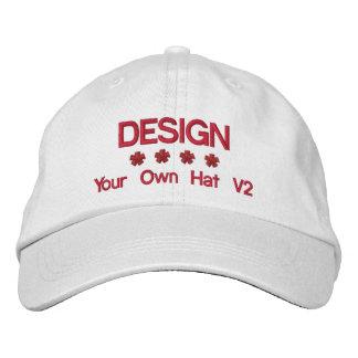 DIY Design Your Own Hat V2 RED Thread