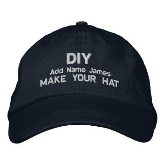 DIY Design Your Own Navy Custom Gift H023 Baseball Cap