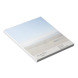DIY, design your own notepad.  Change the landscap Notepad