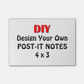 DIY Design Your Own Personal Post-It Post-it® Note Post-it® Notes