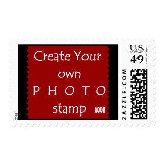 DIY Design Your Own Photo Wedding A009 Postage Stamps