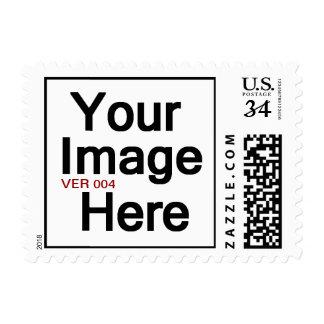 DIY Design Your Own Photo Wedding Stamp V004