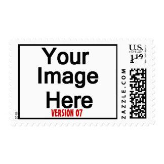 DIY Design Your Own Photo Wedding Stamp Ver 07