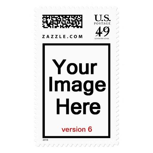 DIY Design Your Own Photo Wedding Stamp Version 6