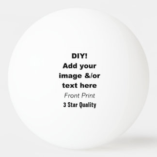 DIY Design Your Own Ping Pong Ball V02 Ping-Pong Ball
