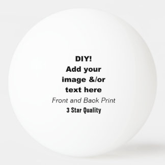 DIY Design Your Own Ping Pong Ball V03
