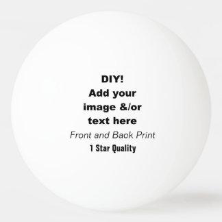 DIY Design Your Own Ping Pong Ball V04