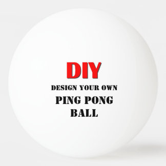 DIY Design Your Own Ping Pong Ball V05