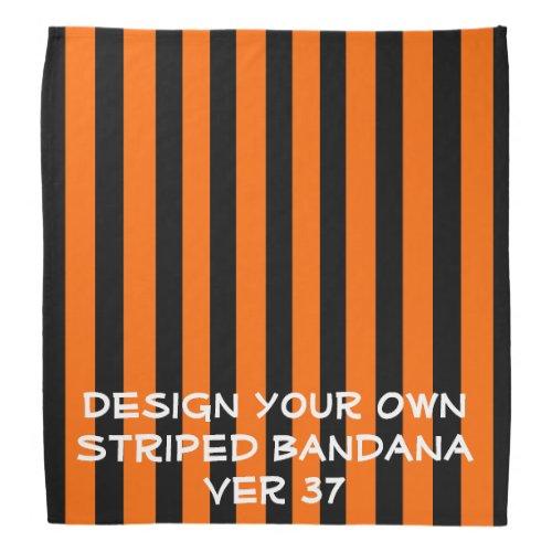 DIY Design Your Own STRIPED Bandana V037