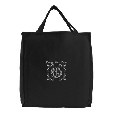 DIY  Design Your Own Ver 2 Embroidered Tote Bag