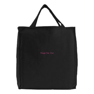DIY - Design Your Own Zazzle Gift Item Embroidered Bag