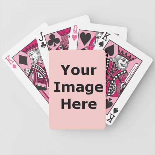 DIY Design Your Own Zazzle Gift Item Bicycle Poker Deck
