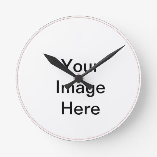 DIY Design Your Own Zazzle Gift Item Wall Clock