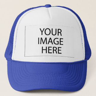 DIY Design Your Own Zazzle Hat Gift Item Blue