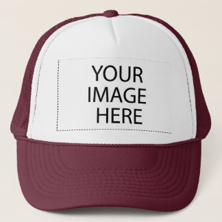 DIY Design Your Own Zazzle Hat Gift Item Maroon