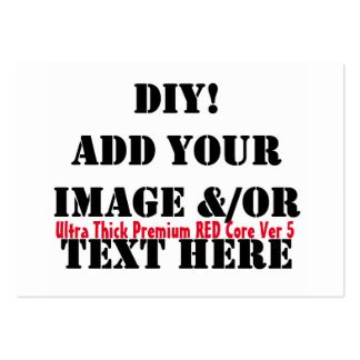 DIY Design Your Zazzle Paper Products Gift item A5 Large Business Cards (Pack Of 100)