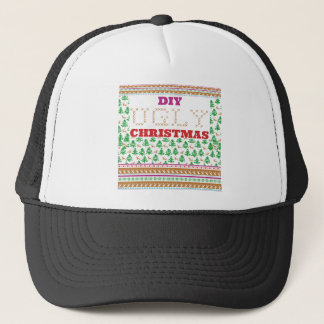 Ugly christmas trucker hats zazzle diy do it yourself ugly christmas like sweater trucker hat solutioingenieria Images