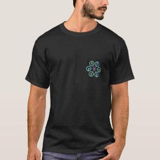 DIY Drone Hexa X Black T-Shirt