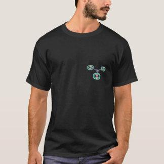 DIY Drone Hexa Y6 Black T-Shirt