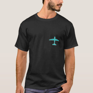 DIY Drone Plane Black T-Shirt