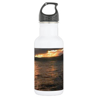 DIY : Editable to add your text n image 18oz Water Bottle