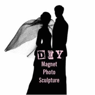 DIY - Escultura de la foto del imán Imán Fotoescultura