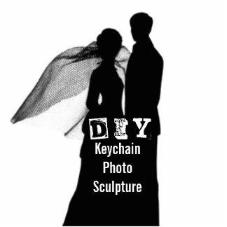DIY - Escultura de la foto del llavero Llavero Fotográfico